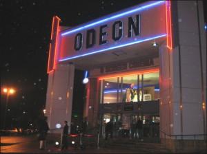 El ODEON es uno de los mejores cines del mundo.
